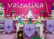 Frozen fever ,decoraciones  vintage para fiestas  infantiles  en lima