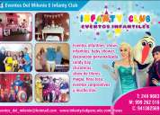 Infanty club, eventos infantiles, show infantil tematico, lima, decoracion, animacion y mas