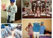 Animacion claun y decoracion personalizada para baby shower en lima, milenio fiestas tematicas