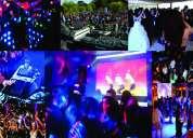 Dj profesional mezclas en vivo, sonido, luces y efectos audiovissuales