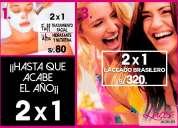 Salón de belleza & spa promoción 2x1