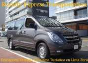 Taxi al aeropuerto lima royalty express