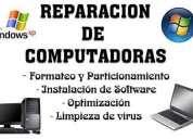 Venta y reparacion de laptop, software, hardware, tintas en general costos a bajo precio o modicos