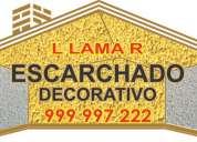El escarchado restaura el estado del techo: son excelentes, muy bueno para decorar. tlf:.999 997 222