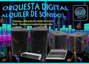 Alquiler de equipo de sonido y orquesta digital