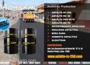 Jhoasfal  asfaltos en venta tipo rc-250