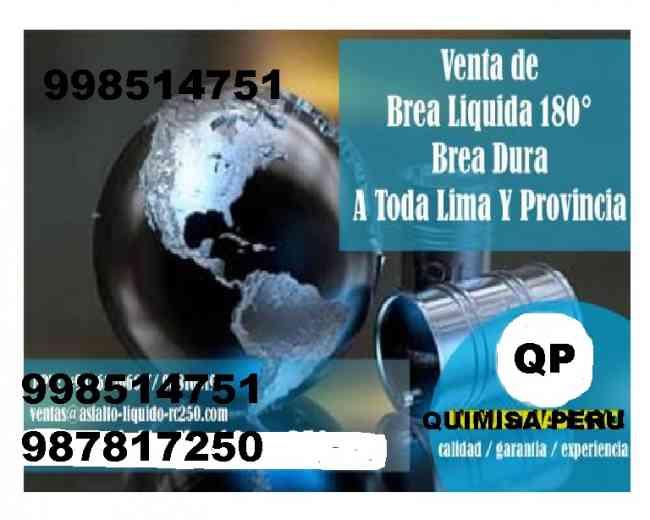 TENEMOS LOS MEJORES PRODUCTOS EN VENTAS DE BREA LIQUIDA