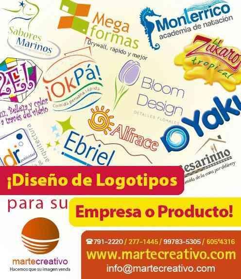 Diseño de logotipos para empresas y negocios en LimaPerú