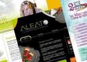 Diseño de brochures para impresión en alta calidad