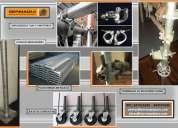 Abrazaderas fijas y giratorias venta y alquiler accesorios para andamios .. terminal de horizontales
