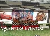 Cars  disney ,decoraciones temáticas para fiesta infantiles