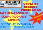 Cds de programas especiales  reparacion computadoras-laptops