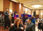 #orquesta #grupo musical orquesta show la trivia mÚsica variada en vivo en lima perú
