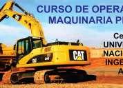 Adcuni - curso de operaciÓn y mantenimiento de maquinaria pesada