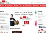 Diseño de Páginas Web, Catálogo de productos online, Páginas Web administrables