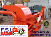 Fabricación de máquinas e implementos agrícolas
