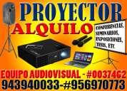 alquiler de proyector multimedia y equipo audiovisual huaraz