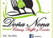 Buffet catering & eventos
