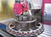 FabricaciÓn de piezas  en maquinaria cnc