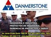Estudios de impacto ambiental lima perú danmerstone teledetección proyectos de inversión publica