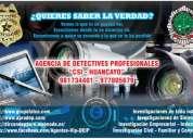 Investigador privado - detective