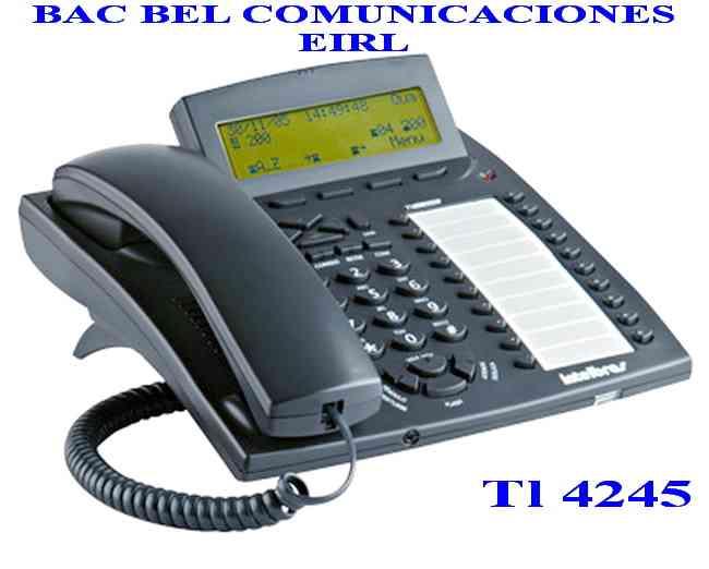 TECNOLOGÍA INTELBRAS - CENTRAL TELEFONICA - TELÉFONO - VENTA Y SERVICIO - DISTRIBUIDOR AUTORIZADO
