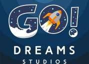 Go dreams studios (diseño gráfico, dibujo digital, ediciones)