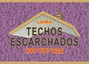 Escarchamos techos y paredes,  servicio con marmol y brillo natural..:. 999 997 222
