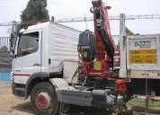 Vendo camion-grua mercedes benz 2011