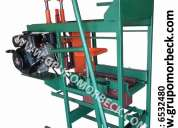 Maquinas para fabricar bloques