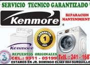 Técnicos especializado lavasecas y refrigeradoras  kenmore 991105199