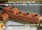 Maquinas para ladrillo y bloques ecolÓgicos