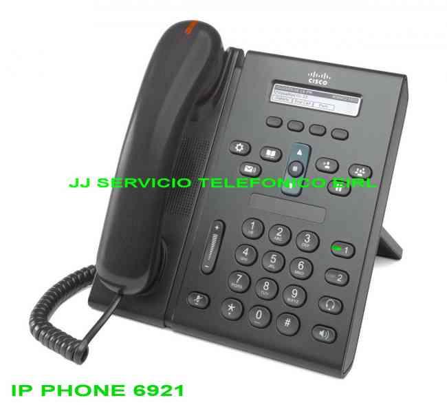 TELEFONOS IP CISCO - COMUNICACIONES UNIFICADAS CISCO