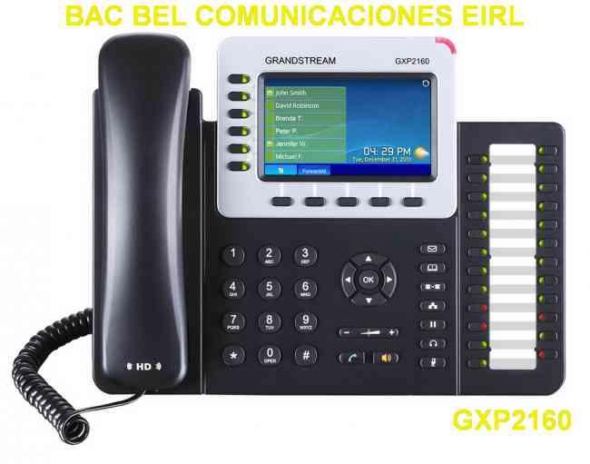 TELEFONO IP GRANDSTREAM - CENTRO AUTORIZADO - BAC BEL COMUNICACIONES EIRL - VENTA Y SERVICIO