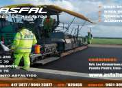 Gran venta de emulsion asfaltica rotura lenta/intermedia y rapida