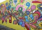 Hacemos murales y decoraciones en interiores.
