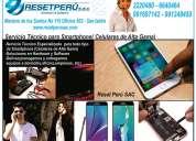 Reparacion , servicio técnico para celulares , smartphone en lima san isidro, soporte celulares