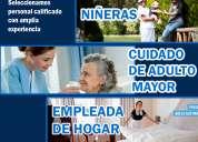 Agencia de niñeras en lima, brinda personal calificado garantia total