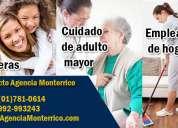 agencia de empleos monterrico, servicio doméstico garantizado