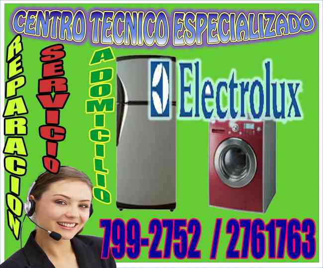 SERVICIO TÉCNICO ELECTROLUX  A DOMICILIO // SAN BORJA // 7992752