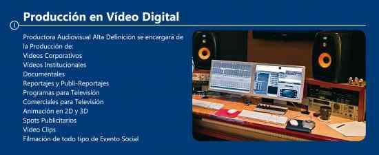 Proveedor de Audio y Videos para el Estado Peruano