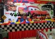 Rayo mcqueen ,decoraciones  para fiestas infantiles