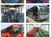 Servicio turístico en buses y coaster