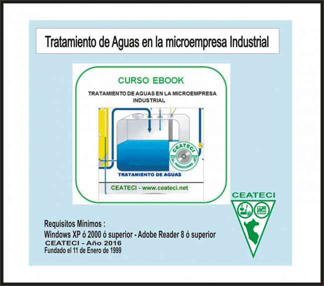 Tratamiento de aguas libro electronico o ebook CEATECI