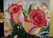 cuadro de flores en venta.