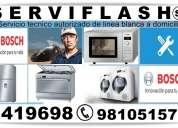 Bosch servicio tecnico autorizado de linea blanca serviflash 2419698 *