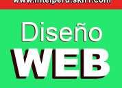 Administra tu pagina web sin conocmiento/desarrollo de paginas web administrables/un solo pago!