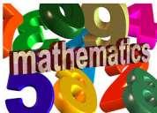 Clases de reforzamiento de matemÁticas para escolares