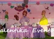 Princesita  sofia decoraciones valentika eventos  en lima