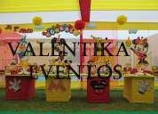 Mickey  mouse  ,fiestas  infantiles  con valentika eventos , decoraciones temáticas